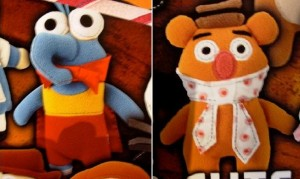 Gonzo and Fozzie Pook-a-looz, 2010.  Submitted by Mini Skunk.