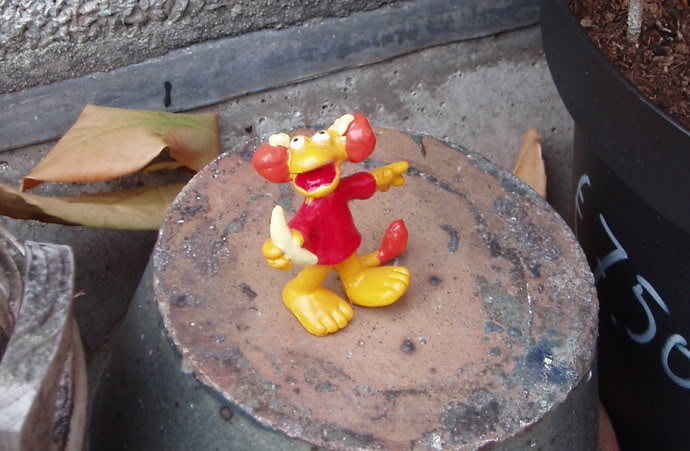 Red Fraggle figure.  Submitted by Jog J. Score: 4.179