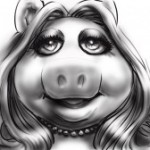 ToughPigs Art: Pretty Piggy