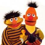 Bert (Ernie) & Ernie (Bert)