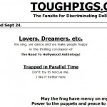 A Brief(ish) History of Tough Pigs, Part 2