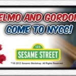 Elmo and Gordon to Appear at New York Comic Con