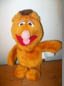 Fozzie plush, submitted by James Whitehead