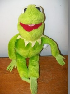 Kermit plush, submitted by James Whitehead