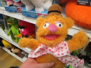 Fozzie plush, submitted by Kelly Smith