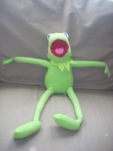 Kermit doll, submitted by Robyn Learn