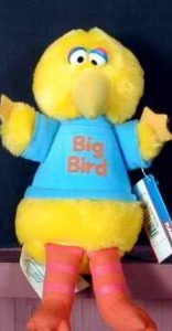 Big Bird doll, submitted by Weston Long