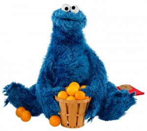 Cookie Monster Oranges