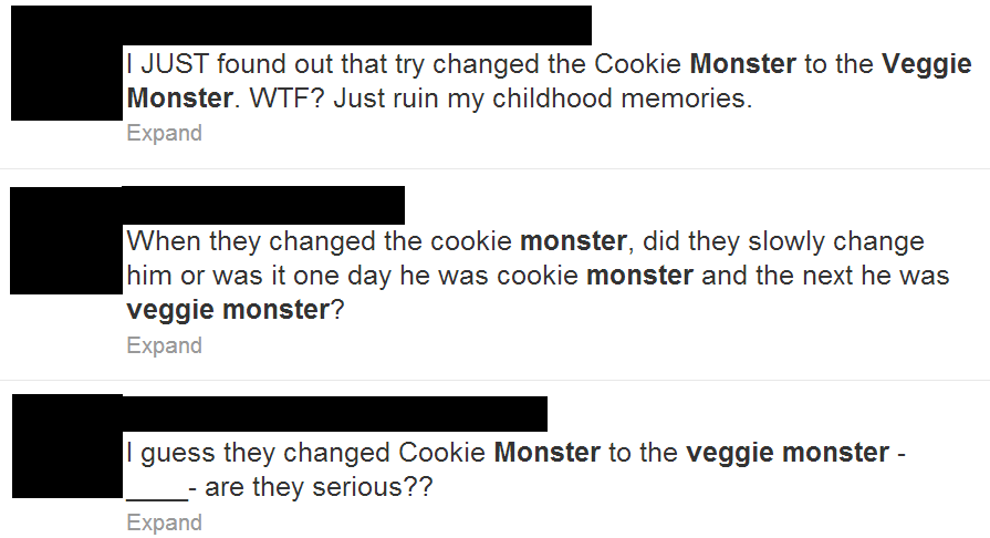 Veggie Monster Twitter
