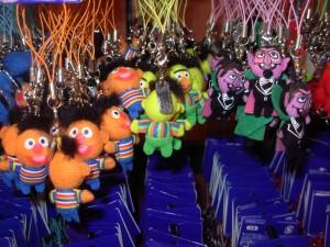 2-15 sesame mascots