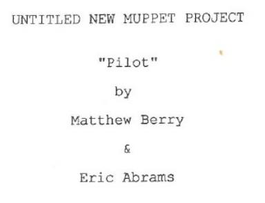 Untitled New Muppet Project Matthew Berry