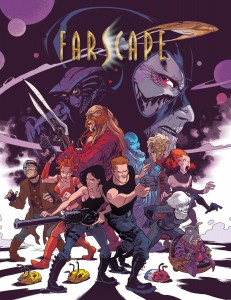 Farscape Mini Comic Cover