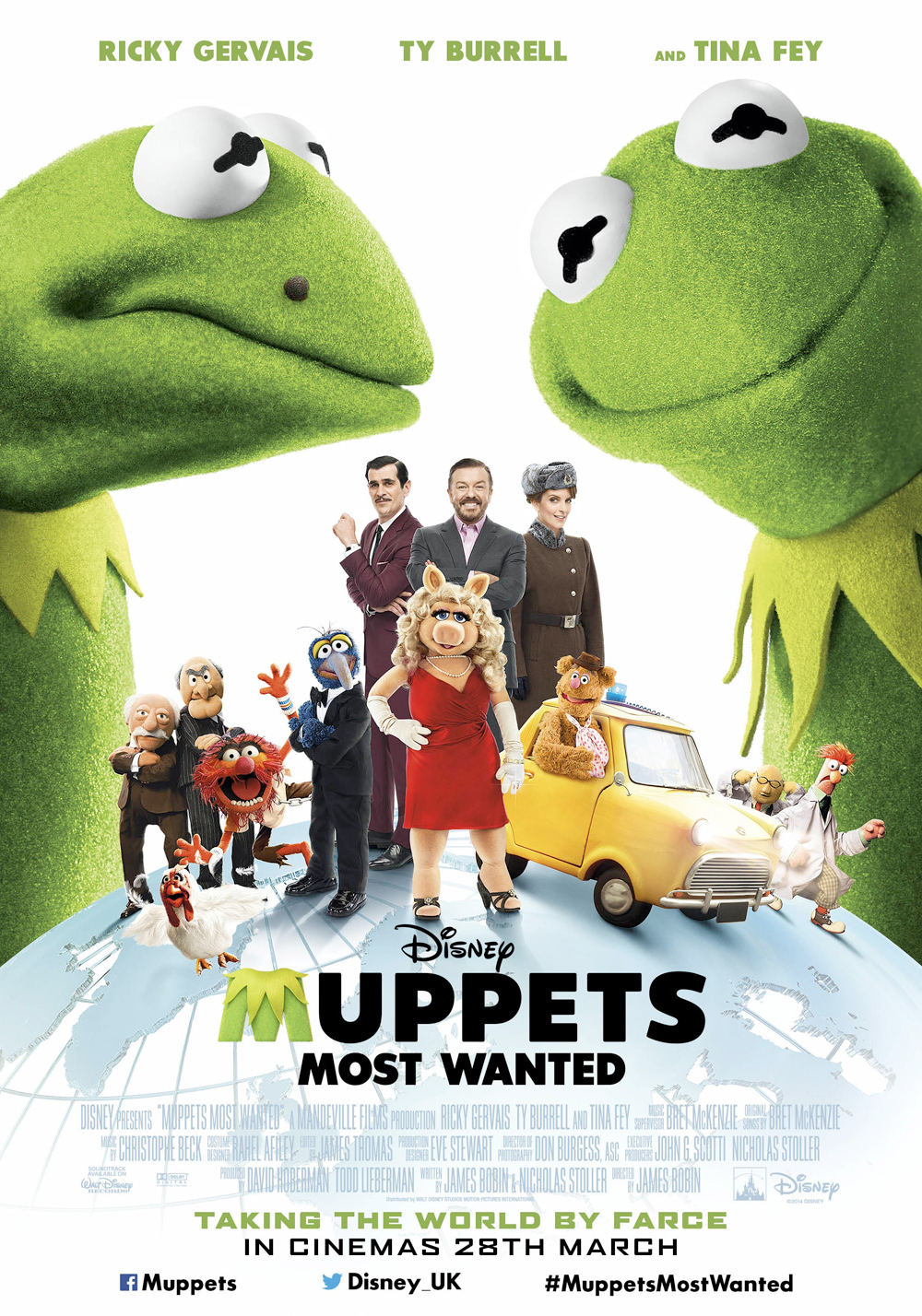 Watch Muppets Most Wanted (2014) online free