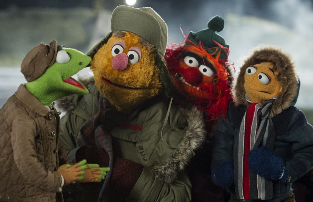 Muppets Most Wanted Kermit Fozzie Animal Walter Siberia