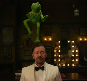 Constantine on Ricky Gervais head MMW
