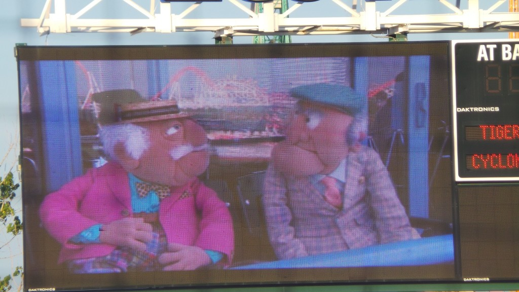 Cyclones Statler Waldorf screen