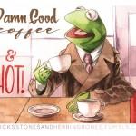ToughPigs Art: Muppets / Twin Peaks Mash-ups
