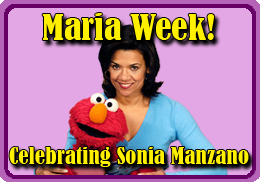 Maria Week - Celebrating the work of Sesame Street's Sonia Manzano!