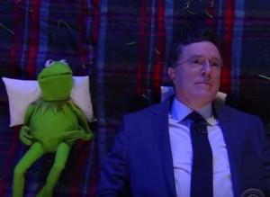 Kermit Stephen Colbert Big Questions