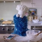 Watch Cookie Monster's iPhone Commercial
