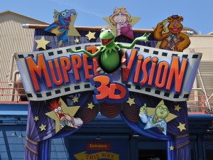 MuppetVision 3D sign