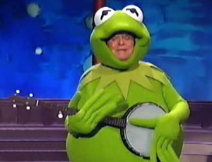 Muppets Tonight Don Rickles Kermit costume