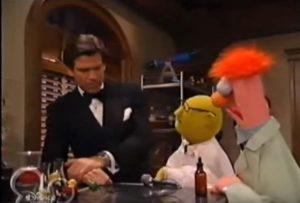 Muppets Tonight Pierece Brosnan Bunsen Beaker