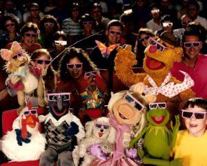 MuppetVision-3D-Bean-Fozzie-Gonzo-Kermit-Piggy-audience