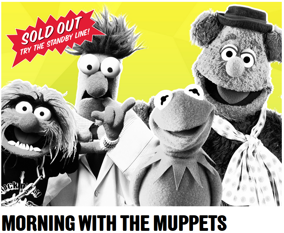 Morning with the Muppets