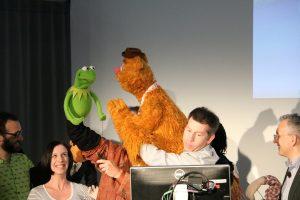 VultureFest Kermit Fozzie monitor
