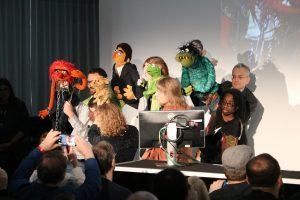VultureFest puppets with Animal