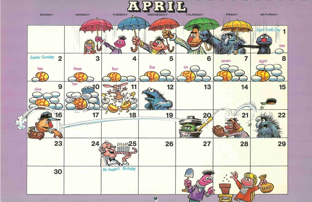4 april 2