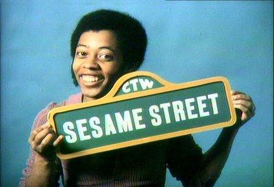 David Sesame Street sign