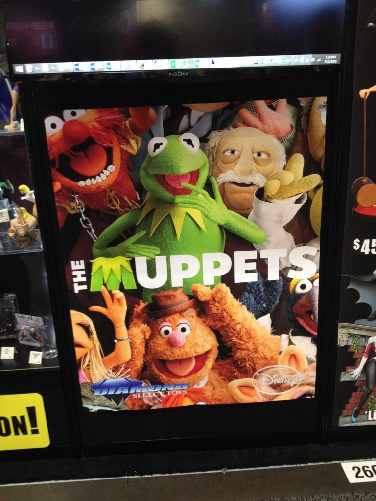 SDCC16 Diamond Muppets sign