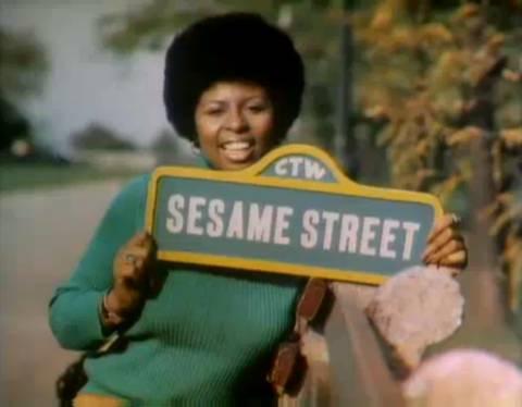 Susan Sesame Street sign