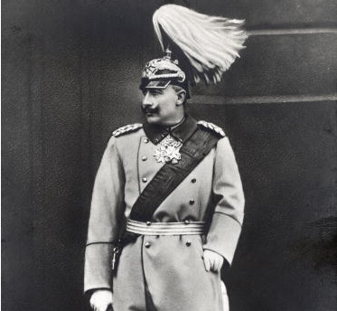 Kaiser Bill, and his silly hat.