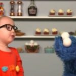 Cookie Monster Talks About the 5 Senses with a 5-Year-Old