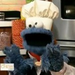 Cookie Monster Answers Questions, Dons Ponytail on The Chew